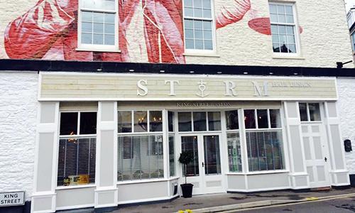 Storm Shop Signage