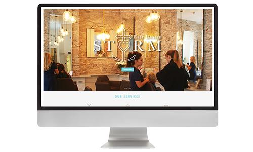 Storm Website Design
